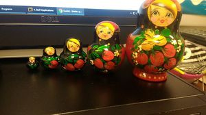 Russian matryoshka for Sale in Germantown, MD