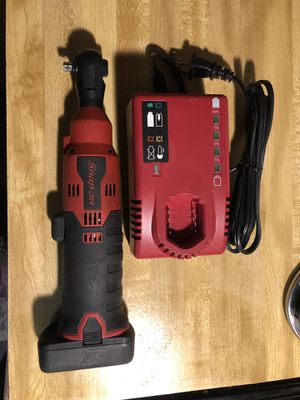 """Snapon 1/4"""" ratchet wrench with (1) 14.4 batt and charger great condition asking 200 firm in N Lakeland for Sale in Lakeland, FL"""