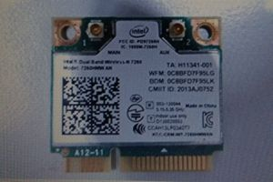 Network card - Intel Dual Band Wireless AC 7260 for Sale in Bethesda, MD