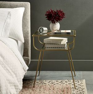 Pair of West Elm Curved Terrace Nightstands Side Tables for Sale in Temecula, CA