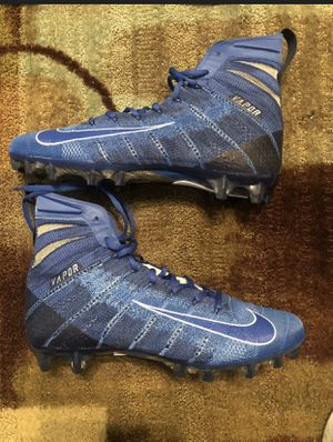 Nike Vapor Untouchable 3 Elite Football Cleats Royal Blue AH7408-401 Men Size 13 for Sale in Zachary, LA