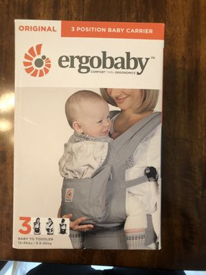 ErgoBaby baby carrier - ONLY $50 for Sale in Menifee, CA