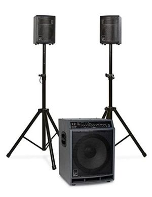 KAT HD400 High-Definition 2.1 PA Speaker System (DISCONTINUED & NEW) for Sale in Niederwald, TX