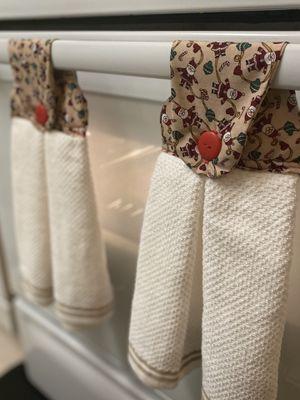 Santa Oven Towel for Sale in Alexandria, VA