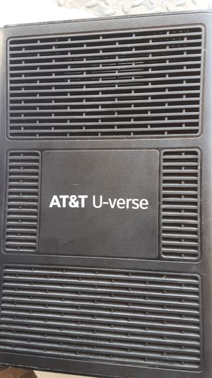 At&T u verse modem router for Sale in Columbus, OH