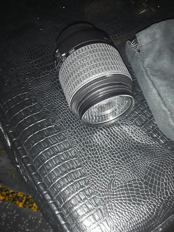 Nikon d5000 camera lens only