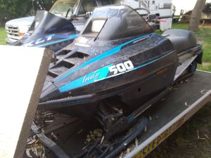 Two snowmobiles and trailer for Sale in Manteca, CA