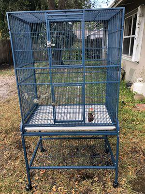 parrot birdcage for Sale in Davie, FL