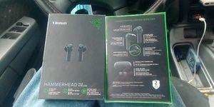 Bluetooth Razer hammerhead true wireless earbuds for Sale in Pico Rivera, CA