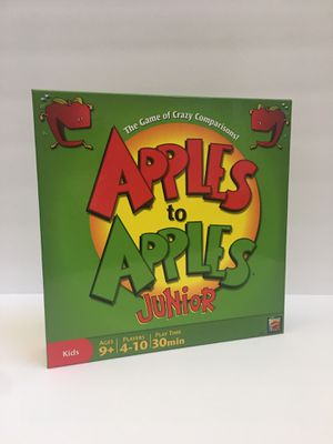 Apples to Apples Jr Card Game Used Once Family Game Night for Sale in New River, AZ