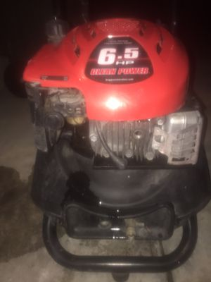 Briggs and Stratton 6.5 HP Pressure Washer for Sale in Salt Lake City, UT