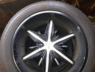 Hello rims and tires for Sale in BAYVIEW GARDE,  IL