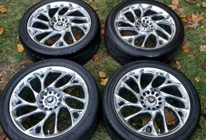 4 17 in 4x114.3. Enkei 6x114.3 wheels rims and tires for Sale in Rockville, MD
