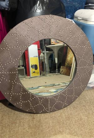 Round wall mirror for Sale in Herndon, VA
