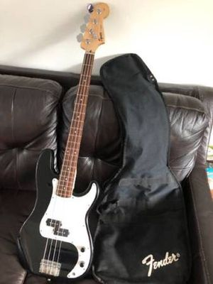 Squire by Fender 4 String P-Bass Electric Bass Guitar Affinity Series w/ Gig Bag for Sale in Evesham Township, NJ