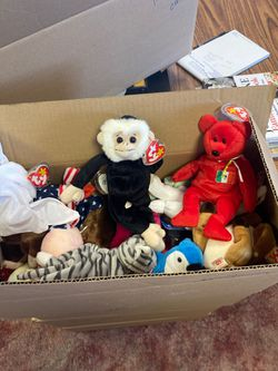 TY beanie babies for Sale in Fairmont,  WV