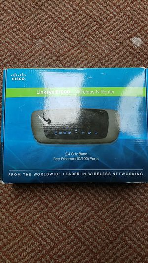 Linksys E1000 Wireless router for Sale in Ellensburg, WA