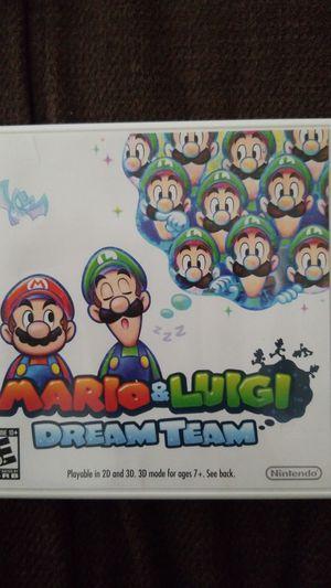 Nintendo 3ds MARIO AND LUIGI DREAM TEAM, DONKEY KONG COUNTRY, MARIO KART 7- LIKE NEW for Sale in Lakeland, FL