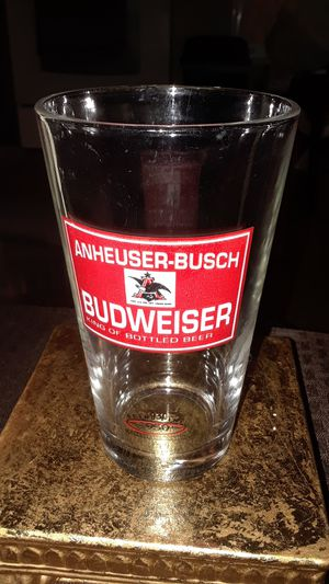 VINTAGE ANHEUSER BUSCH BUDWIEISER RETRO GLASS for Sale in undefined