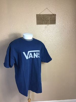 Vans Blue T Shrit Size XXL for Sale in Sacramento, CA