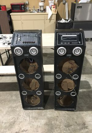 4500watt pro audio system for Sale in Stockton, CA