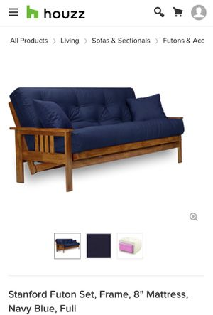 Wood Futon Small Sofa/Couch for Sale in Macon, GA