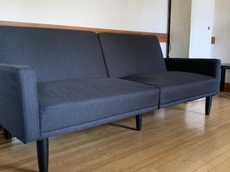 Navy Blue Couch - Twin Bed Convertible for Sale in Portland,  OR