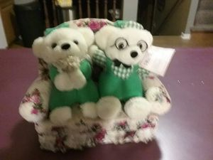 Hungarian/Budapest stuffed mom and dad bears for Sale in Hiram, OH