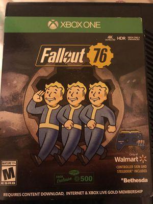 Fallout 76 Xbox for Sale in Walhalla, SC