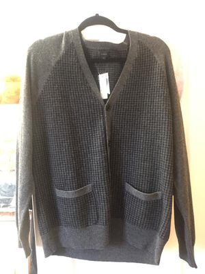 Size L - J.CREW wool houndstooth button down cardigan for Sale in Pittsburgh, PA