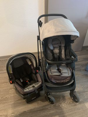 Graco Stroller and car seat with base for Sale in Oviedo, FL