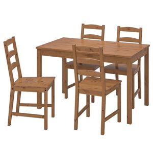 IKEA JOKKMOKK dining table 5 piece set for Sale in Bell Gardens, CA