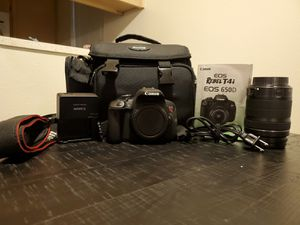 Canon t4i and lens for Sale in Arden-Arcade, CA