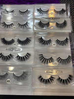 Beautiful mink eyelashes 😍 for Sale in Palmdale, CA