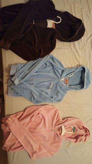 Juicy girls zip up hoodies for Sale in Vancouver, WA