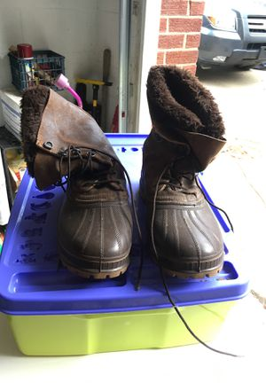 Sorel size 11 work boots for Sale in Bradford Woods, PA