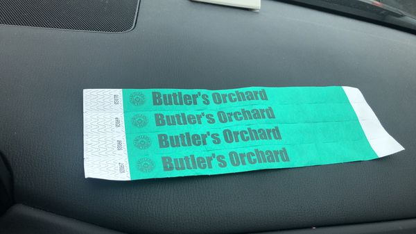 Butler's Orchard Tickets