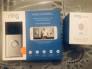 Ring doorbell & Ring Chime for Sale in San Jose, CA