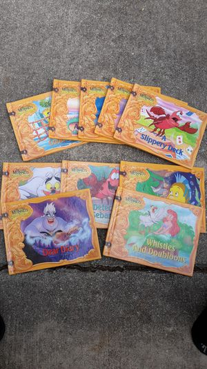 The Little Mermaid's Treasure Chest 10 Book Set for Sale in San Antonio, TX