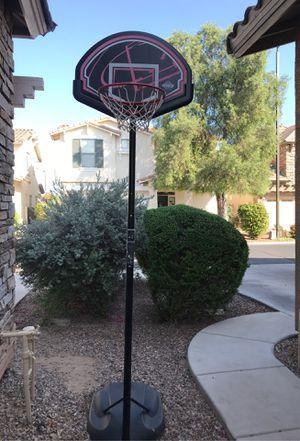 Adjustable Lifetime Basketball Hoop for Sale in Scottsdale, AZ