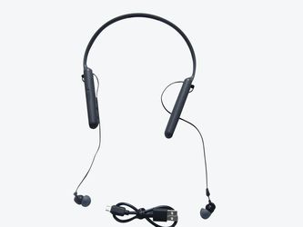 Sony WI-C400 Wireless In-Ear Headphones With Up To 30 Hours Battery Life Black VG for Sale in City of Industry,  CA