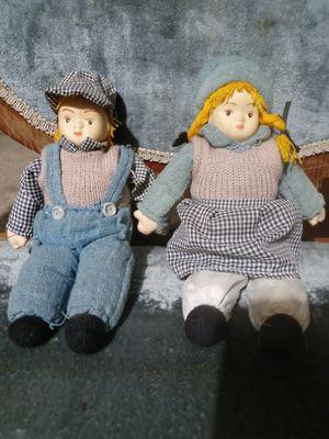 porcelain sawdust antique dolls for Sale in Wichita, KS