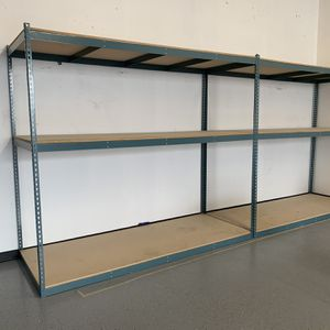 Sturdy Shelves 8'x7'x3 $125 Each ( I Have 6 Of These) for Sale in Fremont, CA