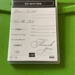 Stampin Up-So Inviting for Sale in East Wenatchee,  WA
