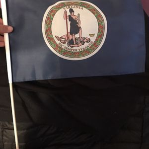 Small Size Virginia State Flag (From Inauguration) 01/21/2021 for Sale in Alexandria, VA