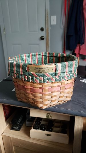 1997 Longaberger Snowflake Basket for Sale in West Henrietta, NY