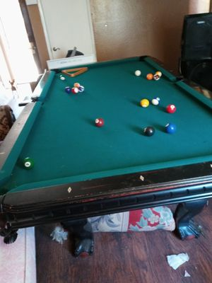 NICE 9FT POOL TABLE for Sale in North Highlands, CA