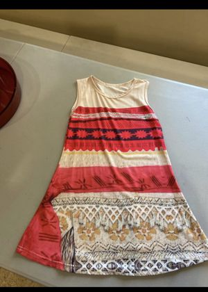 Moana dress size 5-6 for Sale in San Diego, CA