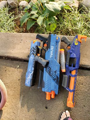 3 Nerf Guns for Sale in Lockport, IL