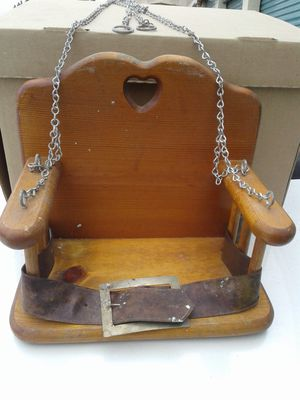 Antique baby doll wooden swing for Sale in Pico Rivera, CA